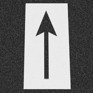 """Bike Arrow Stencil 59"""" x 20"""""""