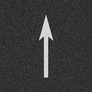 Straight Bike Arrow Marking