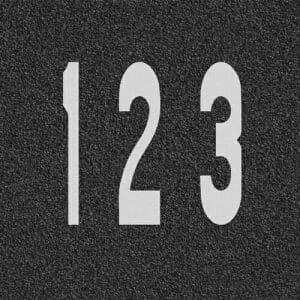 Number-Road-Marking-Stencils