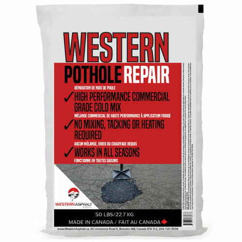 Western Pothole Repair Cold Mix