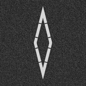 HOV Diamond Pavement Marking