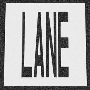 LANE Stencil