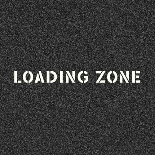 Loading Zone Stencil