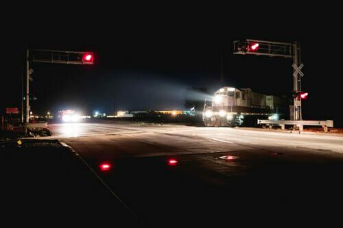 Grade Crossing IRWL Warning Light