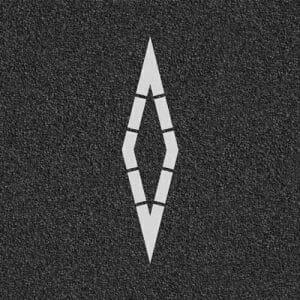Diamond Asphalt Marking