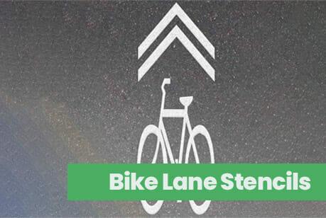 Bike Lane Stencils