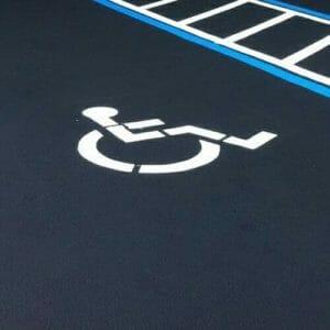 Handicap Symbol Stencils