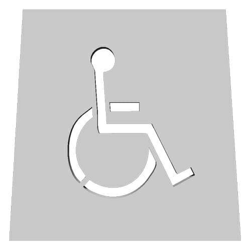 Disability 10 Pavement Marking Stencils