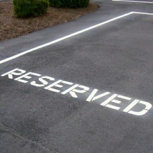 Pavement Messages Stencils